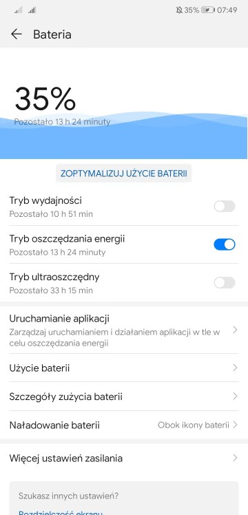 Huawei Battery Optimizer