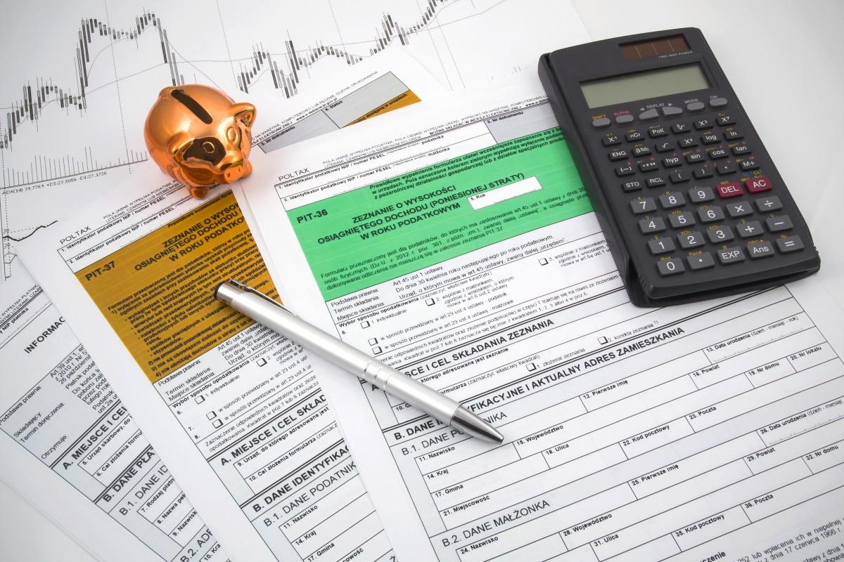 Rozliczenie roczne PIT - formularze pit 36 i 37